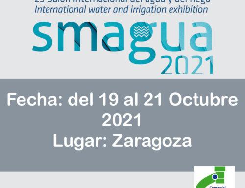 25 SALON INTERNACIONAL DEL AGUA y DEL RIEGO SMAGUA 2021