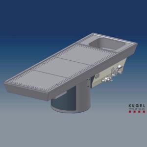 Mesa de Autopsias STV10/100
