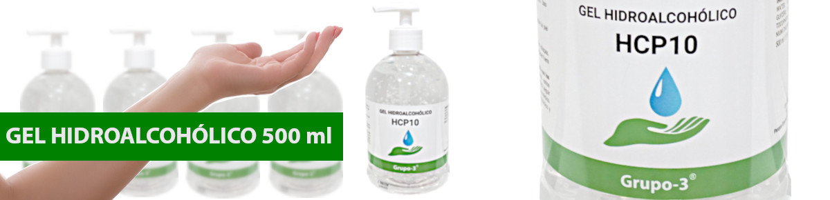 Gel hidroalcoholico 500 ml
